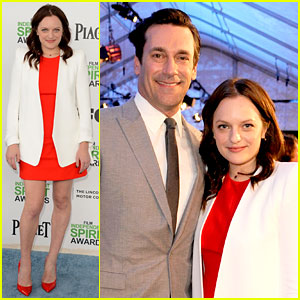Jon Hamm & Elisabeth Moss - Independent Spirit Awards 2014