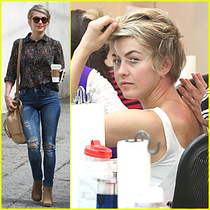 Julianne Hough's Travoltified Name is 'Johnnie Hoyll'!