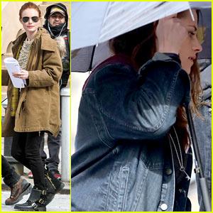 Kate Bosworth & Kristen Stewart Get Ready to Work on 'Still Alice' Set!