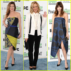Kathryn Hahn & Maria Bello - Independent Spirit Awards 2014
