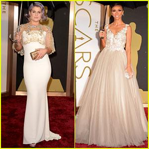 Kelly Osbourne & Giuliana Rancic - Oscars 2014 Red Carpet