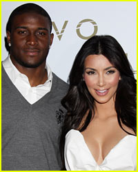 Kim Kardashian & Reggie Bush Reportedly Have an Awkward Run-In!