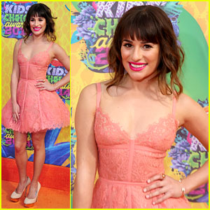 Lea Michele is 'Glee'ful at the Kids' Choice Awards 2014!