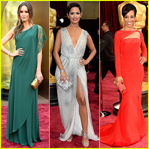 Louise Roe, Rocsi Diaz, & Shaun Robinson - Oscars 2014