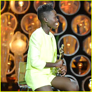 Lupita Nyong'o Talks Oscar Win with 'Live with Kelly & Michael' - Watch Now!
