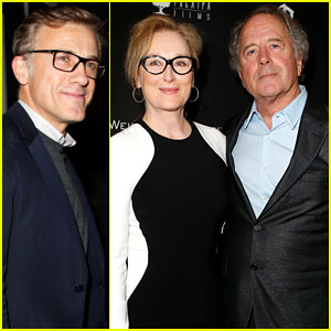 Meryl Streep & Christoph Waltz: Pre-Oscars Party Attendees!