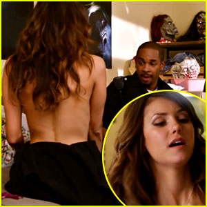 Nina Dobrev Takes Her Top Off in 'Let's Be Cops' Trailer! (Video)