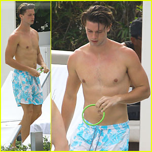 Patrick Schwarzenegger Makes Friday Even Better with His Sexy Shirtless Body!