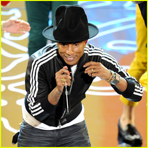 Pharrell Williams Performs 'Happy' at Oscars 2014 (VIDEO)