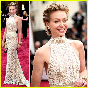 Portia De Rossi Supports Wife Ellen DeGeneres at Oscars 2014!