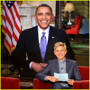 Watch President Obama's Appearance on 'Ellen' Here - Find Out His Thoughts on 'House of Cards' & 'Scandal'!