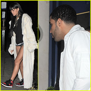 Rihanna Is Reunited with Drake at His London After Party!