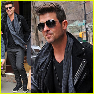 Robin Thicke & Paula Patton Are 'Very Happy Right Now' Post-Split
