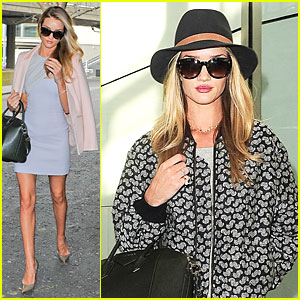 Rosie Huntington-Whiteley Has Legs For Days at Vogue Festival!
