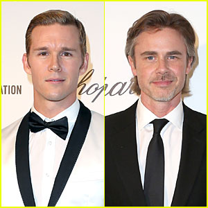 Ryan Kwanten & Sam Trammell: 'True Blood' Studs at Elton John Oscars Party 2014