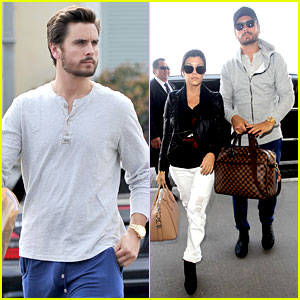 Scott Disick Leaves Little to the Imagination in His Pajama Pants