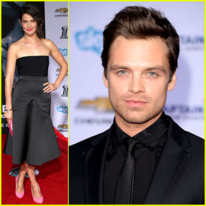 Sebastian Stan: Winter Soldier at 'Captain America' Premiere!