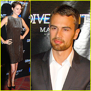 Shailene Woodley & Theo James Continue to Invest All Their Energy into 'Divergent'!