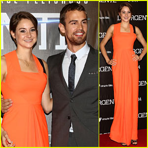 Shailene Woodley & Theo James Bring 'Divergent' to Mexico!