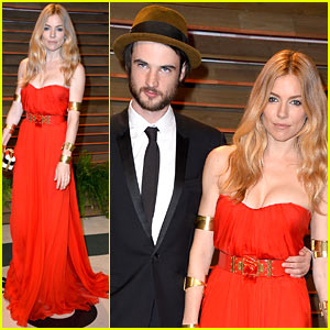 Sienna Miller & Tom Sturridge Celebrate Oscars 2014 at Vanity Fair Party!