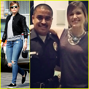 Sophia Bush Loves the LAPD, Even Though They Broke Up Her Party!