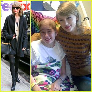 Taylor Swift Goes Above & Beyond for Children's Hospital Visit