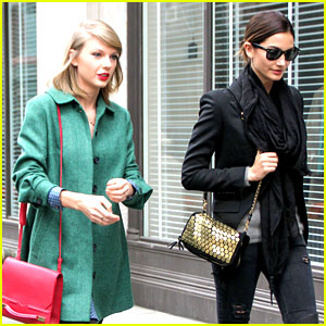 Taylor Swift & Lily Aldridge Are the Chicest Ladies Who Lunch!