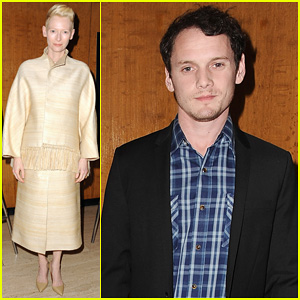 Tilda Swinton & Anton Yelchin: 'Only Lovers Left Alive' Screening!