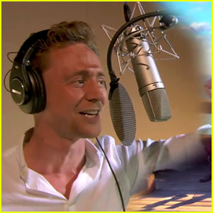 Tom Hiddleston Sings His Heart Out for Animated Movie (Video)