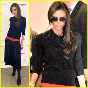 Victoria Beckham Opens First 'Shop in Shop' at Printemps!
