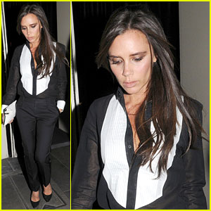 Victoria Beckham Supports an End to Sexual Violence in Conflict