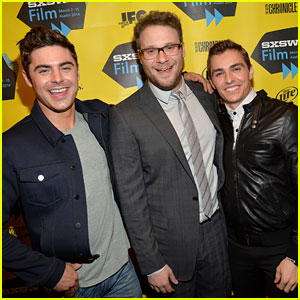 Zac Efron Brings His Next Shirtless Movie 'Neighbors' to SXSW