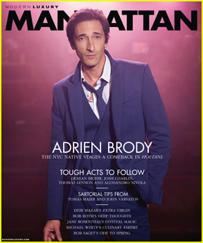 Adrien Brody Explains His Creative Process in 'Manhattan'!