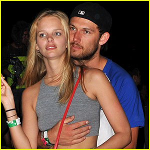 Alex Pettyfer & New Girlfriend Marloes Horst Step Out for First Time at Coachella!