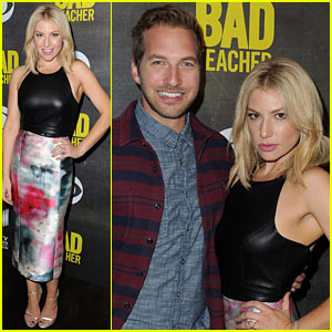 Ari Graynor & Ryan Hansen Are a Couple of 'Bad Teachers' at Kick-Off Party!