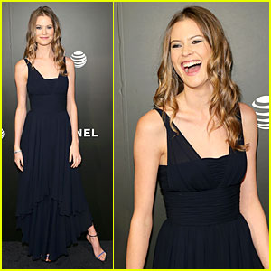 Behati Prinsloo is Beaming at Fiance Adam Levine's 'Begin Again' Tribeca Premiere!