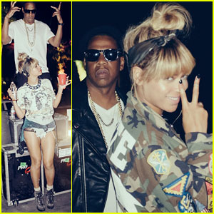 Beyonce Dances Up a Storm at Coachella with Husband Jay Z!