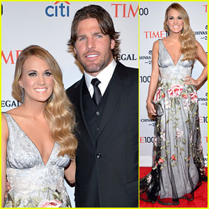 Carrie Underwood & Husband Mike Fisher Have a Date Night at Time 100 Gala!