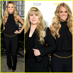 Carrie Underwood Joins Epic Group of Ladies at Rock & Roll Hall of Fame Induction!