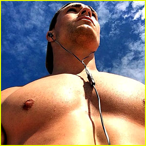 Colton Haynes' Giant Pecs Take Over This Shirtless Pic!