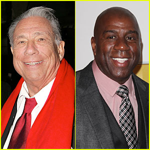 L.A. Clippers Owner Donald Sterling's Racist Rant Evokes Response From Magic Johnson!