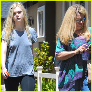 Elle Fanning Hopes to Be Like Angelina Jolie One Day: 'She's Amazing'