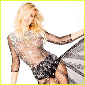 Ellie Goulding Stuns in Totally Sheer Dress for 'Cosmo' Feature