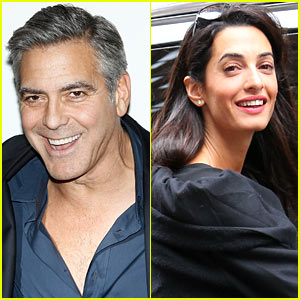 George Clooney & Amal Alamuddin's Engagement Confirmed After Her Law Firm Issues Congratulations!