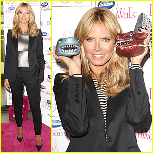 Heidi Klum Thinks Dr. Scholl's DreamWalk Line Will Meet Your Foot Needs!