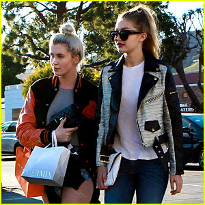 Ireland Baldwin & Gigi Hadid Are 'Always Laughing' Together
