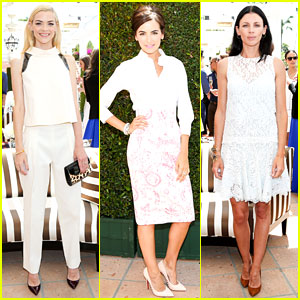 Jaime King Celebrates Birthday at Carolina Herrera Luncheon!