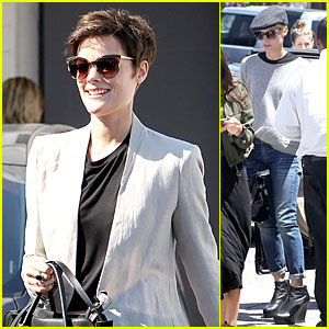 Jaimie Alexander Looks So Happy Going Back to Brunette!