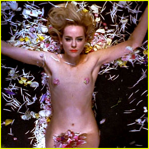 Jena Malone Goes Nearly Naked for New The Shoe Music Video!