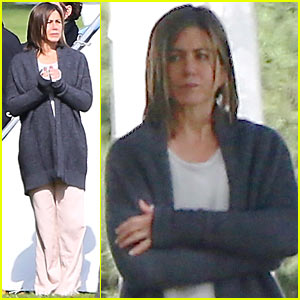 Jennifer Aniston's 'Cake' Begins Filming, Starts at a Cemetery